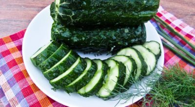 Малосольные огурцы в пакете за 40 минут — прекрасная альтернатива классическому рецепту