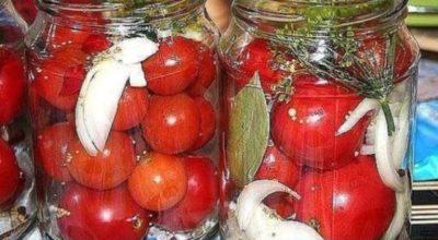 Очень вкусные помидоры, попробовав раз, я делаю их каждый год