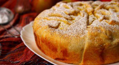 Пирог с яблоками и творогом — такая выпечка понравится многим