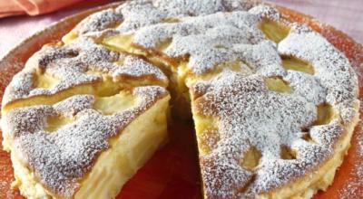 Простой, но очень вкусный итальянский пирог с яблоками