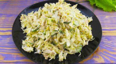 Салат из капусты на каждый день. Вкусно и быстро