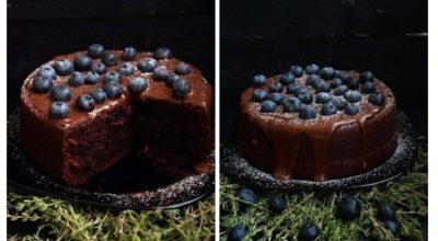 Обалденный шоколадный торт на раз, два, три