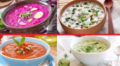 ТОП-10 холодных супов, которые подходят для жарких летних дней