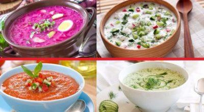 ТОП-10 холодных супов для жарких летних дней