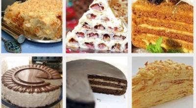 ТОП-6 рецептов самых популярных тортов