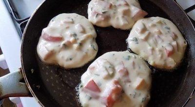 Завтрак-ФУРОР: Вот оладьи со вкусом пиццы
