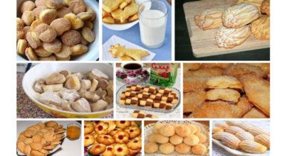 10 рецептов простого, но очень вкусного печенья