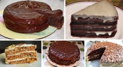 5 самых вкусных и популярных тортов