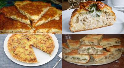 Быстрые и сытные пироги на ужин — 9 простых рецептов