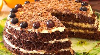 Быстрый торт за 15 минут. Каждая хозяйка должна иметь в запасе такой рецепт