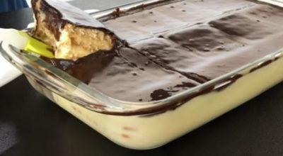 Десерт, не требующий выпечки. Просто залил и готово