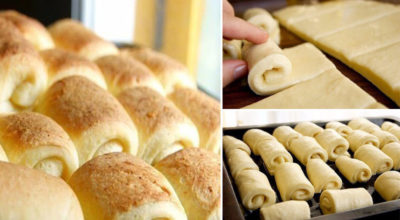 Аппетитные домашние булочки «Нежные». Очень часто пеку их