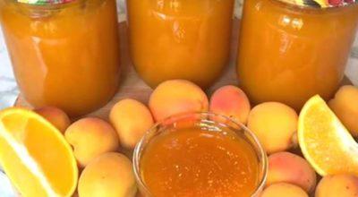 Густой джем из абрикосов всего за 30 минут. С ложки не стекает, вкус потрясающий