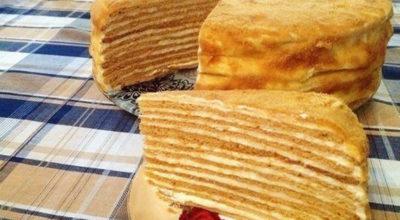 Изумительный медовый торт «Сказочный»