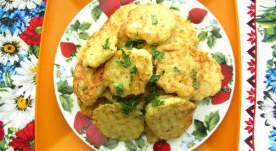 Кабачковые оладьи «Супер» с манкой и картофелем — простой рецепт из доступных продуктов