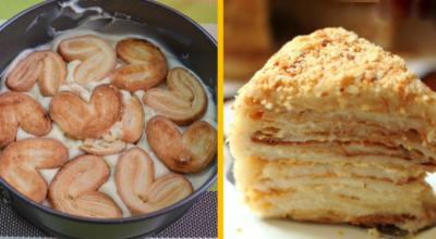 Долго топтаться у плиты некогда, поэтому готовлю «Ленивый Наполеон» за 20 минут