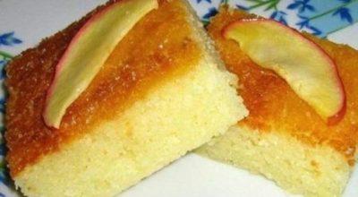 Манник на кефире без муки — минимум ингредиентов, максимум вкуса