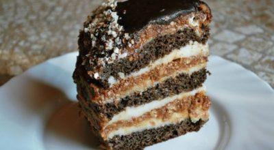 Многослойный торт «Закат»
