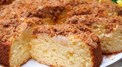 Необыкновенный пирог с яблоками