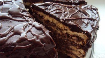 Обалденный нежный торт на кефире «Черный принц»