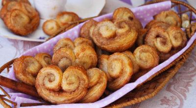 Печенье «Ушки» как в магазине — простое и незатейливое