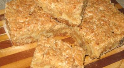 Быстрый пирог «3 стакана» или «Болгарский пирог»: Готовится молниеносно