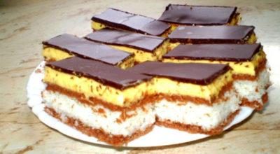 """Пирожное """"Баунти"""": его так просто приготовить этот нежный десерт. Вкус, который напомнит вам о райском наслаждении"""