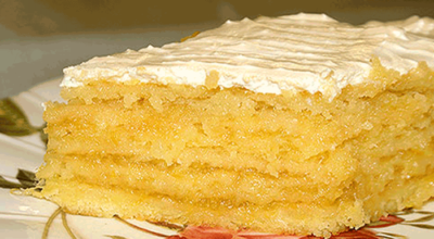 Потрясающий лимонный торт от Ирины Аллегровой