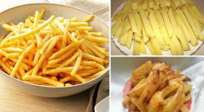 Приготовление картофеля фри без подсолнечного масла