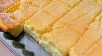 Смешайте все в миске и поставьте в духовку. Этот торт станет вашим любимым