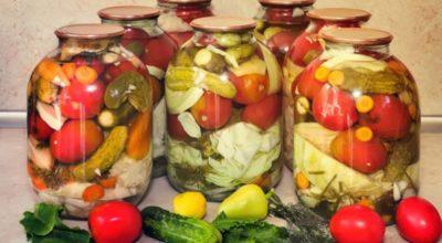 Проверенный годами рецепт консервации. Ассорти из овощей на зиму