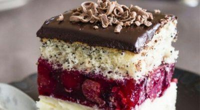 Настоящее райское наслаждение в торте «Вишнёвая фантазия»