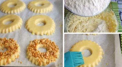 Легкий рецепт очень вкусного песочного печенья по ГОСТу