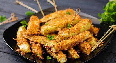 Рецепт палочек из кабачков в духовке