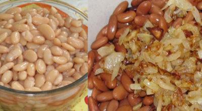 Салат с фасолью и грибами: очень часто готовлю