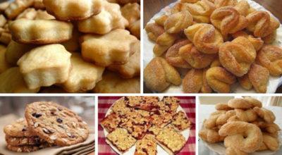 Самое вкусное домашнее печенье. 5 отличных рецептов