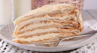 Самый нежный торт «Наполеон» из всех опробованных: Необыкновенно вкусный
