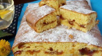 Очень вкусный пирог на скорую руку. Пока гости соберутся, пирог уже на столе