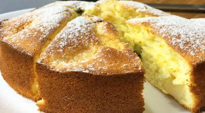 Аппетитный, безумно вкусный и простой в приготовлении бисквитный пирог