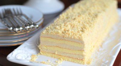 Торт «Славянка» с невероятным кремом, нежнейшим и не совсем обычным