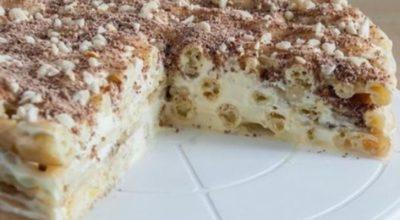 Торт-эклер. Самый вкусный и легкий в приготовлении