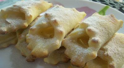 Творожное печенье «Платочки» без яиц и без масла