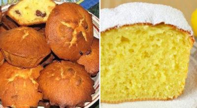 Творожные кексы. 2 легких рецепта