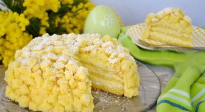 Великолепный итальянский торт «Мимоза»