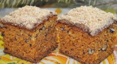 Вкусный пирог с вареньем «Негр в пене»