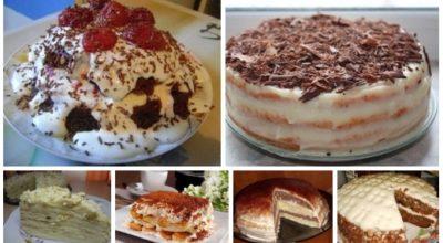 6 потрясающих рецептов самых быстрых и вкусных тортов