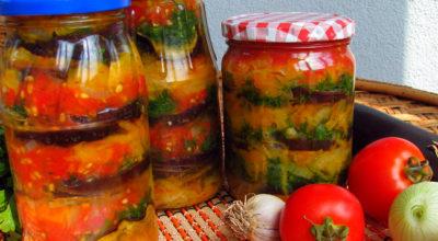 Изумительные баклажаны в сладком медовом маринаде