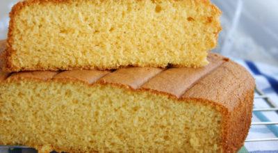Обалденный бисквит на горячем молоке