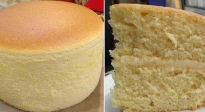 Обалденный бисквит «Великан» — поднимается выше крыши без соды и разрыхлителя, без единого горбика.