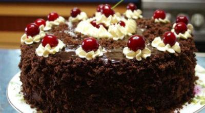 Божественный тортик «Пьяная вишня в шоколаде»: невероятное наслаждение
